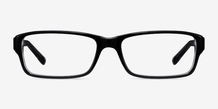 Ray-Ban RB5169 Black Acetate Eyeglass Frames from EyeBuyDirect, Front View