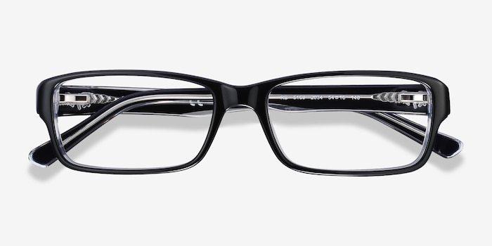 Ray-Ban RB5169 Black Acetate Eyeglass Frames from EyeBuyDirect, Closed View