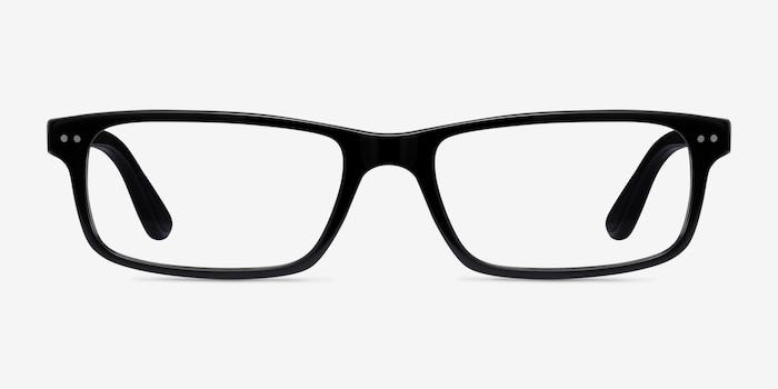 Ray-Ban RB5277 Black Acetate Eyeglass Frames from EyeBuyDirect, Front View