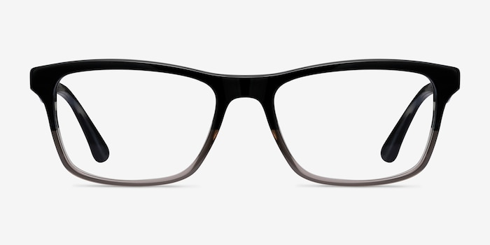 Ray-Ban RB5279 Black & Gray Acetate Eyeglass Frames from EyeBuyDirect, Front View