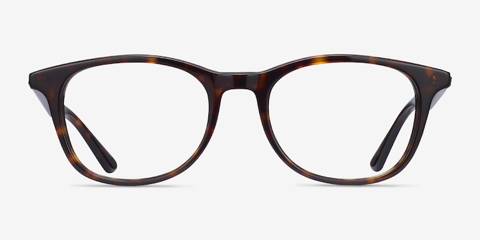 Ray-Ban RB5356 Tortoise Acetate Eyeglass Frames from EyeBuyDirect, Front View