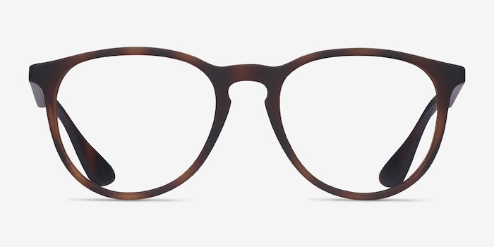 Ray-Ban RB7046 Tortoise Plastic Eyeglass Frames from EyeBuyDirect, Front View