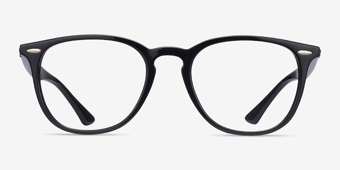 Ray-Ban RB7159 Black Plastic Eyeglass Frames from EyeBuyDirect, Front View