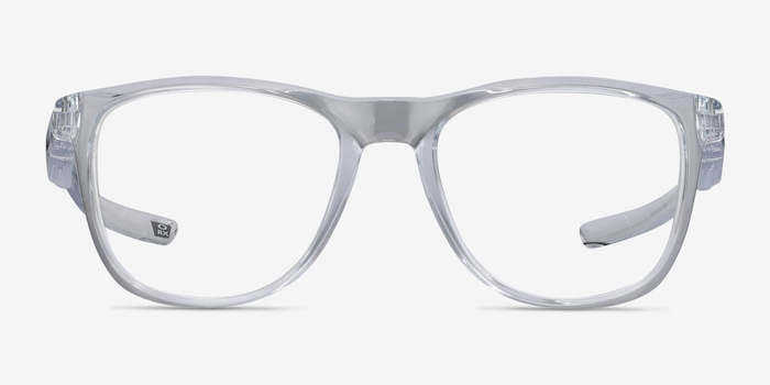 Oakley Trillbe X Clear Plastic Eyeglass Frames from EyeBuyDirect, Front View