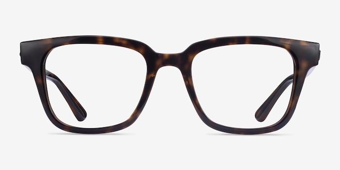 Ray-Ban RB4323V Tortoise Plastic Eyeglass Frames from EyeBuyDirect, Front View