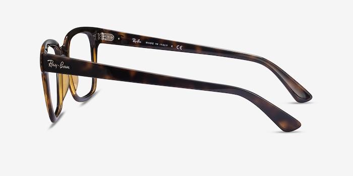 Ray-Ban RB4323V Tortoise Plastic Eyeglass Frames from EyeBuyDirect, Side View