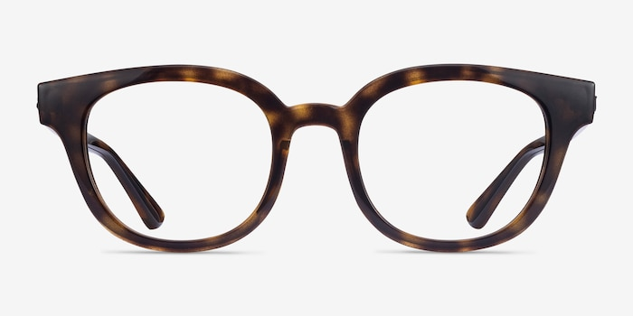 Ray-Ban RB4324V Tortoise Plastic Eyeglass Frames from EyeBuyDirect, Front View