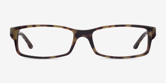 Ray-Ban RB5114 Tortoise Acetate Eyeglass Frames from EyeBuyDirect, Front View