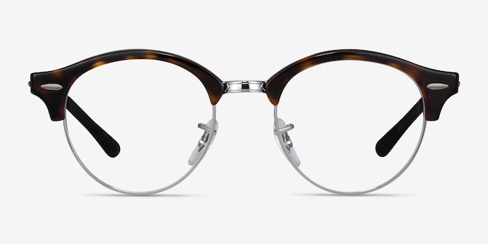Ray-Ban RB4246V Tortoise Metal Eyeglass Frames from EyeBuyDirect, Front View