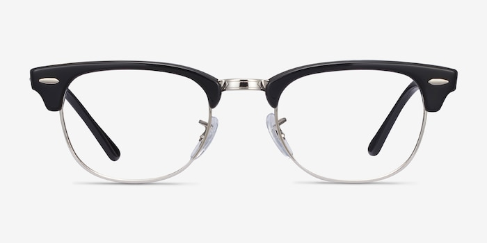 Ray-Ban RB5154 Black Acetate-metal Eyeglass Frames from EyeBuyDirect, Front View