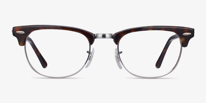 Ray-Ban RB5154 Tortoise Metal Eyeglass Frames from EyeBuyDirect, Front View
