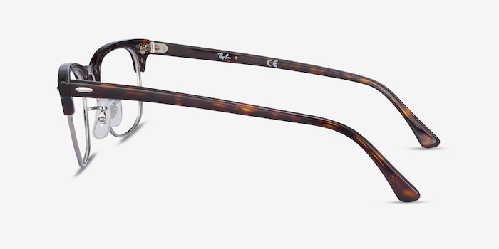 Ray-Ban RB5154 Tortoise Metal Eyeglass Frames from EyeBuyDirect, Side View