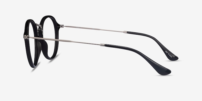 Ray-Ban RB2447V Black Plastic Eyeglass Frames from EyeBuyDirect, Side View