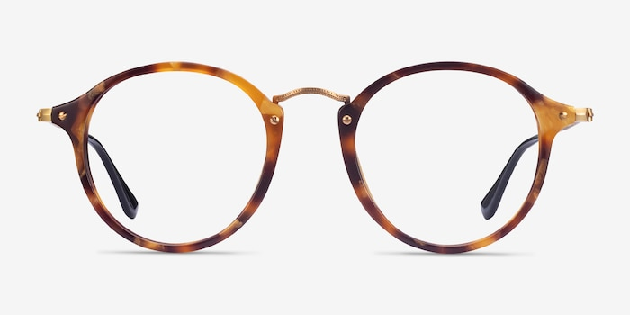 Ray-Ban RB2447V Tortoise Acetate-metal Eyeglass Frames from EyeBuyDirect, Front View