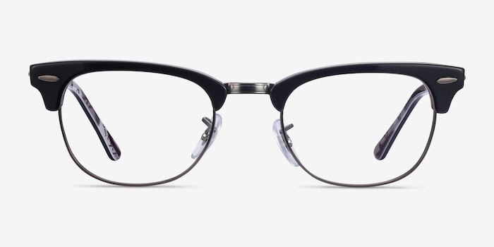 Ray-Ban RB5154 Black Multicolor Metal Eyeglass Frames from EyeBuyDirect, Front View