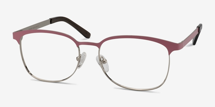 114c0a8969c6 Dancer Pink Silver Metal Eyeglass Frames from EyeBuyDirect