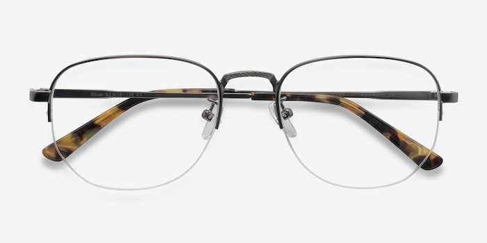 f9f6a29558 Ritual Gunmetal Metal Eyeglass Frames from EyeBuyDirect