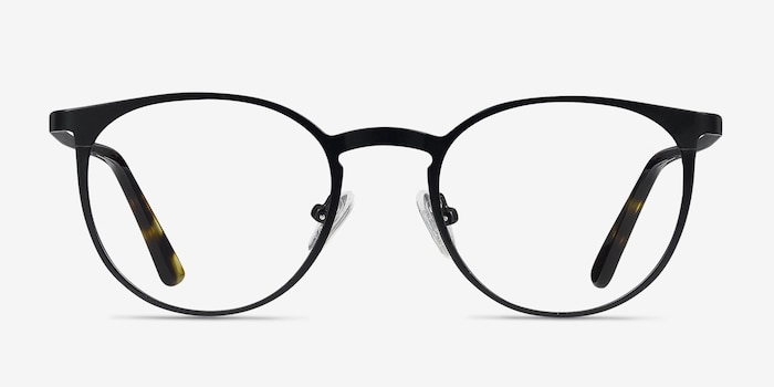 8263ff54c85a7 Radius Black Metal Eyeglass Frames from EyeBuyDirect