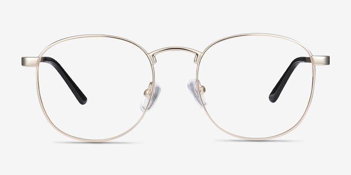 eb8ecb5348 St Michel Golden Metal Eyeglass Frames from EyeBuyDirect