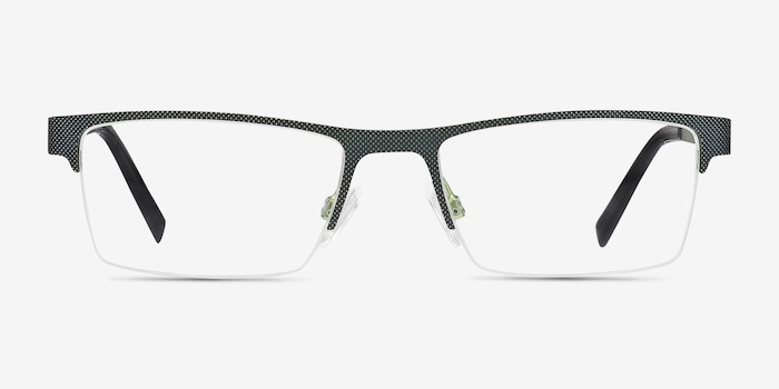 Vine Green  Metal Eyeglass Frames from EyeBuyDirect, Front View
