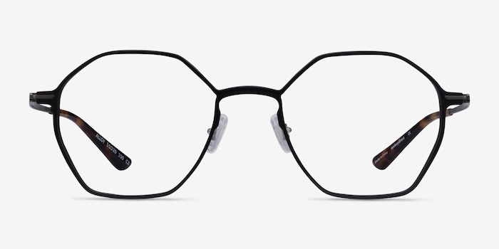 Alloy Black Aluminium-alloy Eyeglass Frames from EyeBuyDirect, Front View