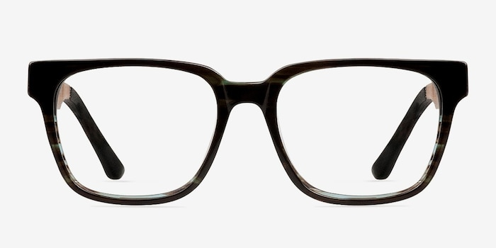 c828bc63fa8 Belmont Coffee Wood-texture Eyeglass Frames from EyeBuyDirect