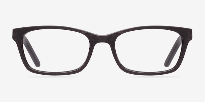 Mesquite  Coffee Acetate Eyeglass Frames from EyeBuyDirect, Front View