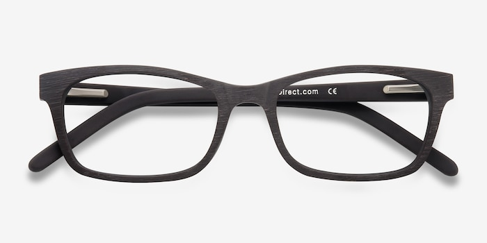 Mesquite  Coffee Acetate Eyeglass Frames from EyeBuyDirect, Closed View