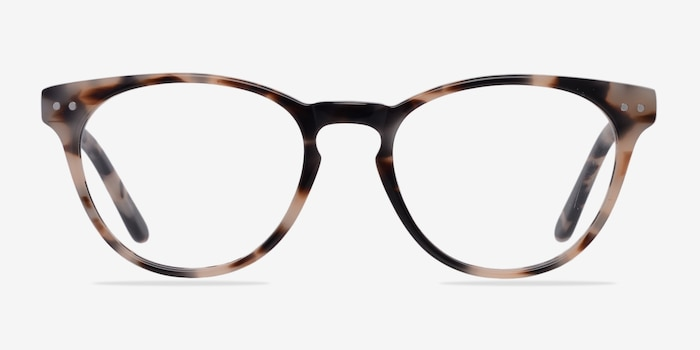 Notting Hill Ivory/Tortoise Acetate Eyeglass Frames from EyeBuyDirect, Front View