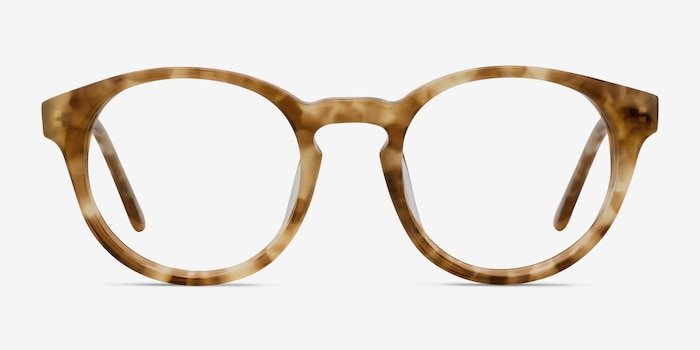 Jade Tortoise Acetate Eyeglass Frames from EyeBuyDirect, Front View
