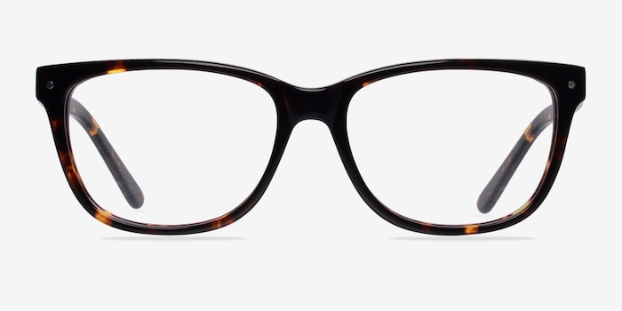 Allure Tortoise Acetate Eyeglass Frames from EyeBuyDirect, Front View
