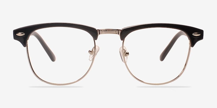 d176e68397 Coexist Black Silver Metal Eyeglass Frames from EyeBuyDirect