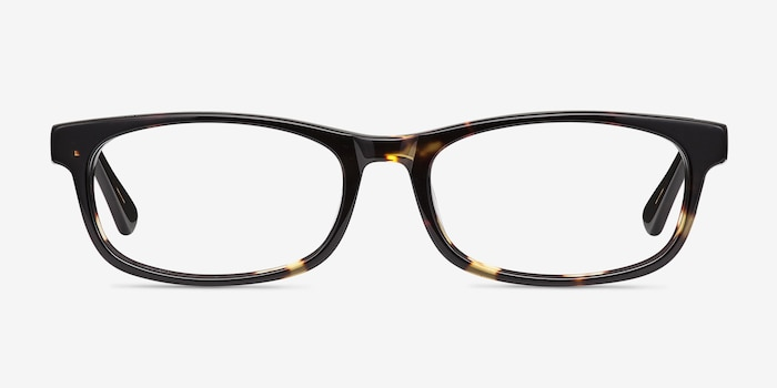 Opal Tortoise Acetate Eyeglass Frames from EyeBuyDirect, Front View