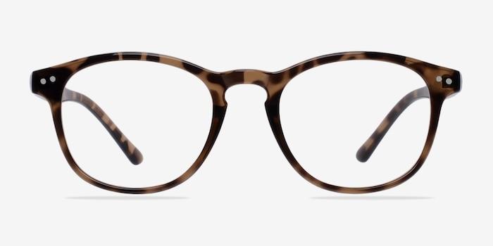 Instant Crush Léopard Plastique Montures de Lunettes d'EyeBuyDirect, Vue de Face