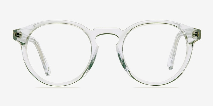 Theory Translucent Acetate Eyeglass Frames from EyeBuyDirect, Front View