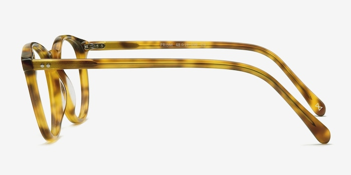 Prism Blonde Tortoise Acetate Eyeglass Frames from EyeBuyDirect, Side View