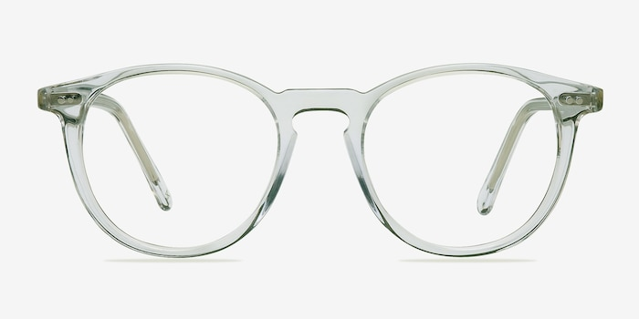 Prism Clear Acetate Eyeglass Frames from EyeBuyDirect, Front View