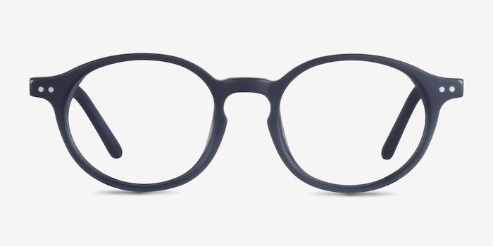 Sophie  Navy  Acetate Eyeglass Frames from EyeBuyDirect, Front View