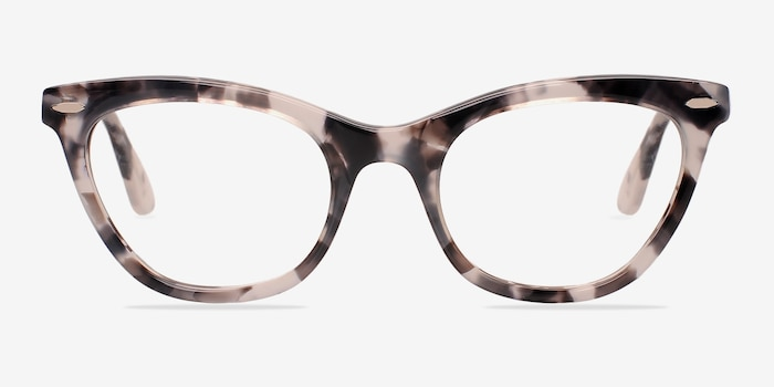 Ellie Gray Acetate Eyeglass Frames from EyeBuyDirect, Front View