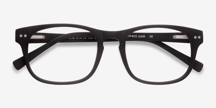 Carla Coffee Acetate Eyeglass Frames from EyeBuyDirect, Closed View