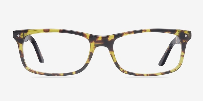 Mandi Tortoise Acetate Eyeglass Frames from EyeBuyDirect, Front View