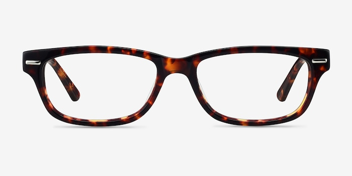 Fairmount Tortoise Acetate Eyeglass Frames from EyeBuyDirect, Front View