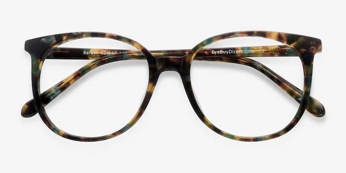 Bardot Floral Acetate Eyeglass Frames from EyeBuyDirect, Closed View