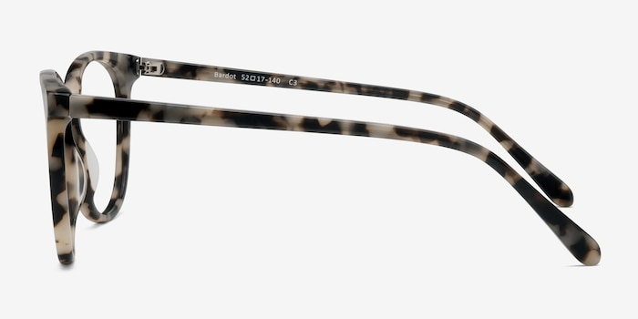 Bardot Ivory Tortoise Acetate Eyeglass Frames from EyeBuyDirect, Side View