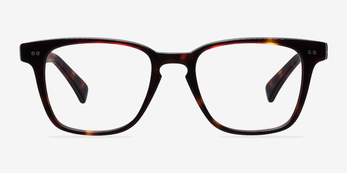 Samson Tortoise Acetate Eyeglass Frames from EyeBuyDirect, Front View