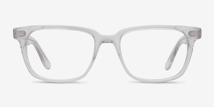 Pacific Clear Acetate Eyeglass Frames from EyeBuyDirect, Front View