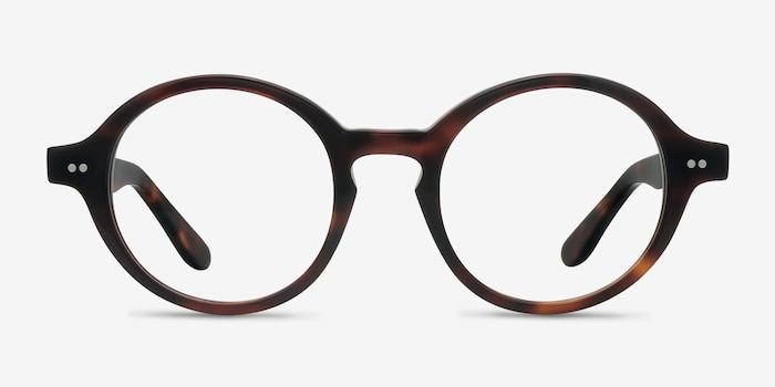 Aprem Tortoise Acetate Eyeglass Frames from EyeBuyDirect, Front View