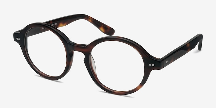 Aprem Tortoise Acetate Eyeglass Frames from EyeBuyDirect, Angle View