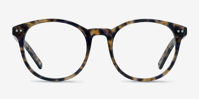 Primrose Floral Acetate Eyeglass Frames from EyeBuyDirect, Front View
