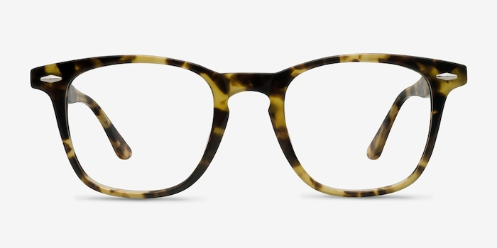 Together Tortoise Acetate Eyeglass Frames from EyeBuyDirect, Front View
